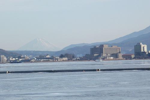 富士山も見える景色