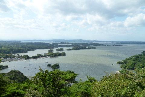 奥松島からの眺め