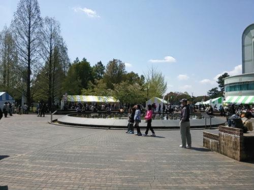 市民公園にて、各務原フードフェスティバル
